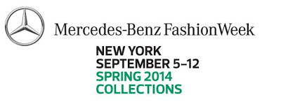 Mercedes Benz Fashion Week Spring 2014 MBFW NYC