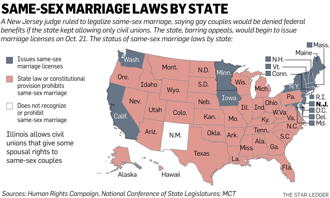 same sex marriage in the usa Same-sex marriage in the united states expanded from one state in 2004 to all fifty states in 2015 through various state court rulings, state legislation, direct popular votes, and federal court rulings.